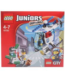 Lego Juniors Police Helicopter Chase Multicolor - 63 Pieces