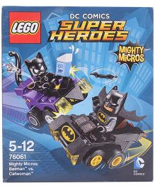 Lego DC Comics Super Heroes Mighty Micros Batman Vs Catwoman Multicolor - 79 Pieces