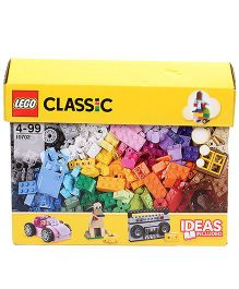 Lego Classic Creative Building Set Multicolor - 583 Pieces