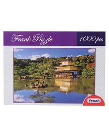 Frank Kinkaku Ji Jigsaw Puzzle Multicolor - 1000 Pieces