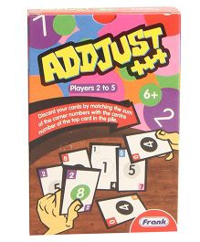 Frank Addjust Game Card - Multicolor