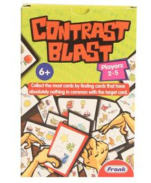 Frank Contrast Blast Card Game Multicolor - 55 Cards