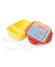 Doraemon Lunch Box - Maroon Yellow