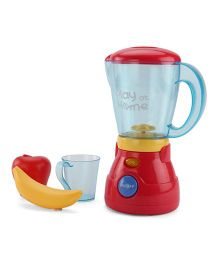 Playmate Toy Blender With Fruits And Measuring Cup - Red