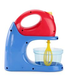 Playmate Toy Mixer With Bowl - Red Blue