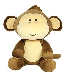 Sunlord Sitting Monkey Soft Toy Brown - 30 cm