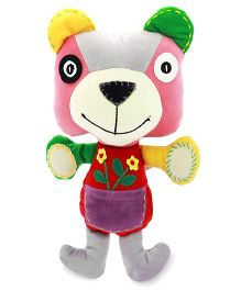 Sunlord Bear Soft Toy Multicolor - 8 cm