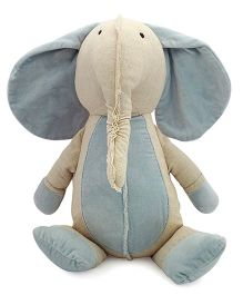 Sunlord Cute Elephant Soft Toy Grey - 7 Inches