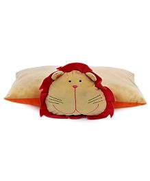 Sunlord Lion Folding With Soft Toy - Brown