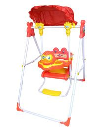 Funride Daizy Garden Swing - Red