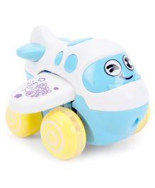 Baby Happy Funny Plane Shape Toy - White
