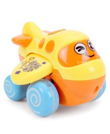 Baby Happy Funny Plane Shape Toy - Yellow