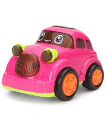 Smiles Creation Mini Cartoon Car - Fuschia
