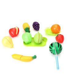 Smiles Creation Kitchen Fruit Set Multicolor - 13 Pieces