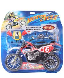 Smiles Creation Motorcycle Toy Red - 13 Inches