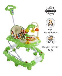 Babyhug Little Explorer Walker cum Rocker - Green