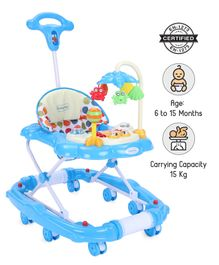 Babyhug Little Explorer Walker cum Rocker - Blue