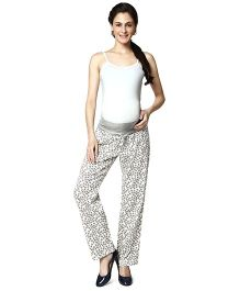 Nine Maternity Comfy Printed Pajamas - Multi Color