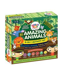 Genius Box Learning Toys Amazing Animals Activity Kit