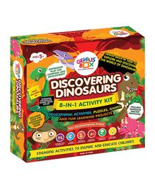 Genius Box 8 in 1 Discovering Dinosaurs Activity Kit