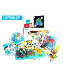 Genius Box Learning Our Precious Earth Activity Kit