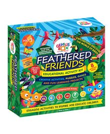Genius Box Feathered Friends Activity Kit - Multi Color