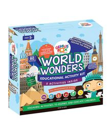 Genius Box World Wonders Activity Kit - Multi Color