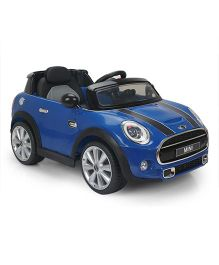 Marktech Mini Cooper Battery Operated Ride On - Blue