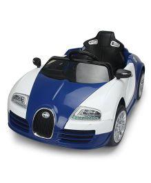 Marktech Bugatti Battery Operated Ride On - White Blue