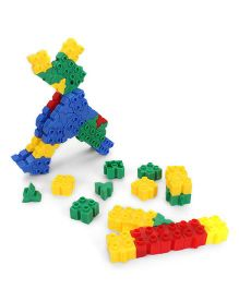 Baby Blocks Game Set Multicolor - 80 Pieces