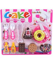 Cake Pastry Food Series Multicolor - 12 Pieces