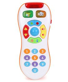 My Smart Click Musical Remote Control Toy - White