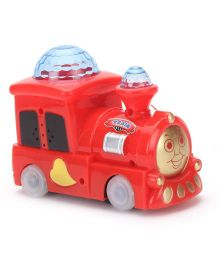 Musical Train Toy - Red