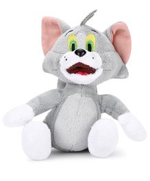 Tom and Jerry Soft Toy Tom Grey - 8 Inches