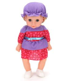 Baby Fashion Doll Red And Purple - Height 13 Inches