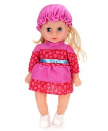 Baby Fashion Doll Red And Pink - Height 13 Inches