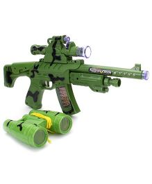 Electro Optical Little X Men Sound Gun - Green