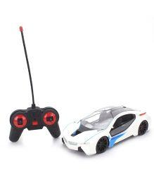 X Street Remote Control Car - White