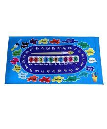 Gravolite Kids Color Game Design Education Cum Play Mat - Blue