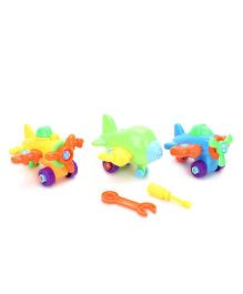 Plane Puzzle Set Multicolor - Pack Of 3