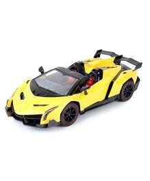 Flyer's Bay Lamborghini Veneno Style Remote Control Car - Yellow