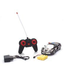 Remote Control Police Car - Black