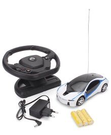 Remote Control Car Toy - White