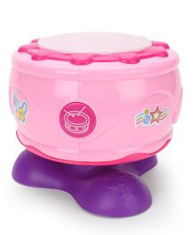Baby Musical Toy Drum - Pink
