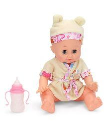 Baby Musical Doll With Accessories - Yellow
