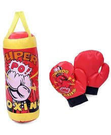 Boxing Set Super Print - Red