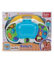 Baby Musical Learning Laptop - Blue