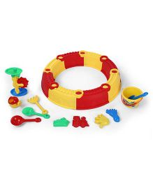 Baby Beach Kingdom Set Multicolor - 18 Pieces