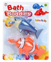 Baby Bath Buddies Fish Shape Toy - Pack Of 2