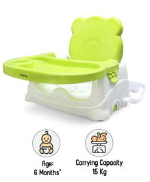 Babyhug Raise Me Up Baby Booster Seat - Green White